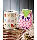 Manicure Set And Personalised Owl Mug