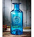 Turquoise Flower Bottle