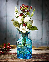 Dartington Crystal Mini Flower Bottle