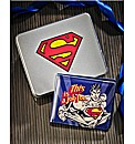 Superman Wallet In Gift Tin
