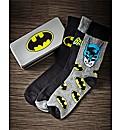 Batman Socks In Gift Tin