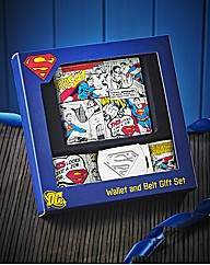 Superman Wallet & Belt Set