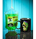 Zombie Heat Changing Mug and Shower Gel