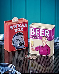 Swear Box and Beer Money Saving Tins