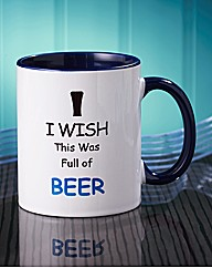 Personalised I Wish Mug