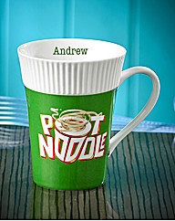 Personalised Pot Noodle Mug