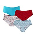Naturally Close Pack of 10 Shortie Brief