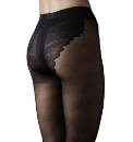 Sculptz Lacy High Cut Tights