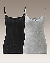 Naturally Close Pack of 2 Camisoles