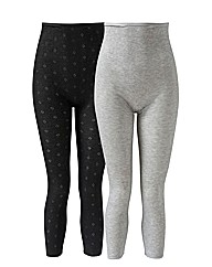 Naturally Close 2 Pack Thermal Leggings