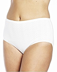 Naturally Close Pack of 2 Cotton Briefs