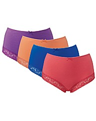 Naturally Close Pack of 4 Briefs