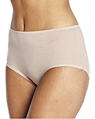 Naturally Close Pack of 4 FullFit Briefs
