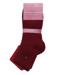 Pack of 6 Ladies Supersoft Socks