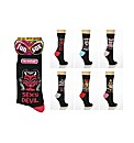 Pack of 6 Ladies Fun Socks