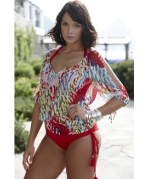 Beach to Beach Blouson Cover Up