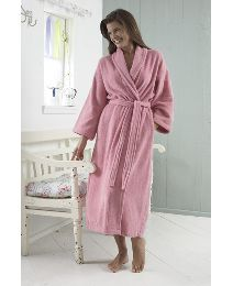 Pretty Secrets Towelling Wrap Gown L42