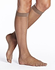 Naturally Close Pack 6 Knee High Tights