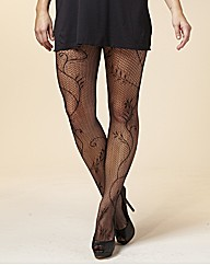 Viva La Diva Pack of 2 Net Tights