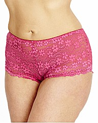 Shapely Figures Daisy Lace Shorts