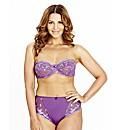 Shapely Figures Purple Ava Multiway Bra