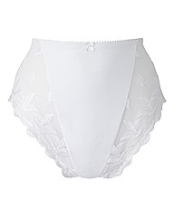 Shapely Figures White Ava Knicker