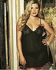 Naturally Close Crystal Pleat Babydoll