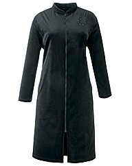 Miliarosa Velour Zip Gown L48