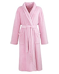 Pretty Secrets Fluffy Fleece Gown L44