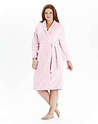 Pretty Secrets Fluffy Fleece Gown L42