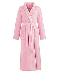 Pretty Secrets Fluffy Fleece Gown L50