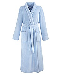 Pretty Secrets Fluffy Fleece Gown L48
