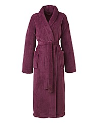 Pretty Secrets Fluffy Fleece Gown L48