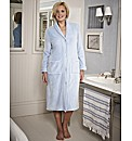 Pretty Secrets Button Fleece Gown L44