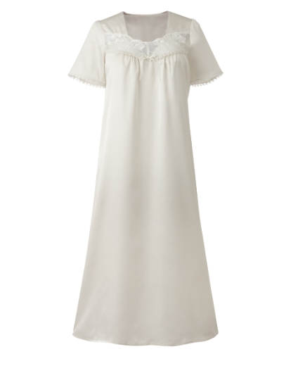 Miliarosa Satin Nightdress L44 £18.00 AT vintagedancer.com