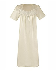 Naturally Close Satin Nightdress L44