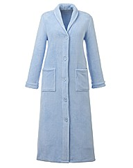 Pretty Secrets Button Fleece Gown L50