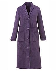 Pretty Secrets Fleece Button Gown L48
