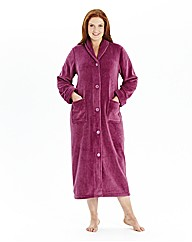 Pretty Secrets Fleece Button Gown L48