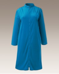 Miliarosa Velour Zip Gown L44
