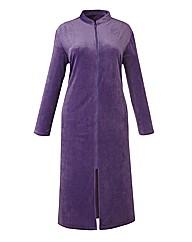 Miliarosa Velour Zip Gown L44