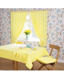 Plain Dye Kitchen Curtains