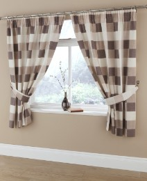 Normandy Kitchen Curtains & Tie Backs