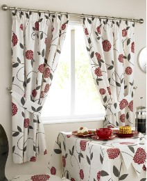 Rosemont Kitchen Curtains & Tie Backs