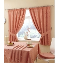 Deliciously Dotty Kitchen Curtains