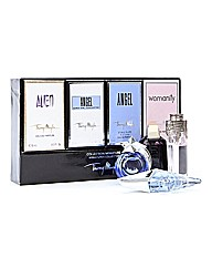 Thierry Mugler Four Piece Miniature Set
