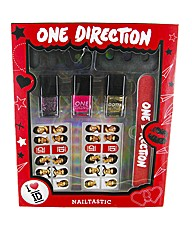 One Direction Nail Art Set