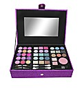 Purple Glitter Jewel Make Up Case