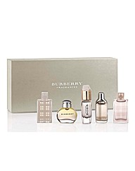 Burberry Ladies Miniature Set