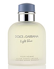 D&G Light Blue 125ml Aftershave
